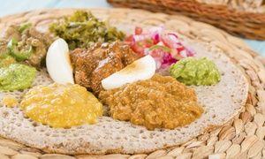 Groupon - Repas traditionnel érythréen pour 2 personnes dès 22€ au restaurant Asmara, 11ème  à Paris. Prix Groupon : 22€