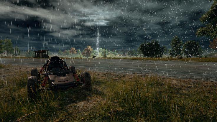 Player Unknown's Battlegrounds (PUBG) 4K Rain Pubg
