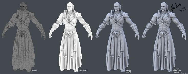 Hey guys! I'm Katia (Sketchfab/ArtStation) and welcome to my thread! I'll be working alongside with Sketchfab for the next few weeks in creating a fantasy character model [:smile_cat:]   I was really inspired to work on a redesign of a Greek deity and it was a hard choice between Ares and Hades, but the one with the puppies and black ponies won [:dog2:]   This will be my process thread, I'll be regularly posting lots of WIP shots and 3d views, probably set a few things on fire, and fall on…