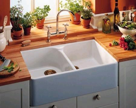 Clean Ceramic Sinks In Kitchen 102 best general tips images on pinterest bathroom sinks bathtubs if your sink stinks try cleaning the drain with a paste made of vinegar and ceramic sinkporcelain kitchen workwithnaturefo