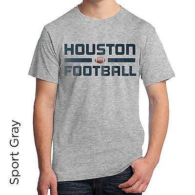 Houston Football Graphic T-Shirt SL145