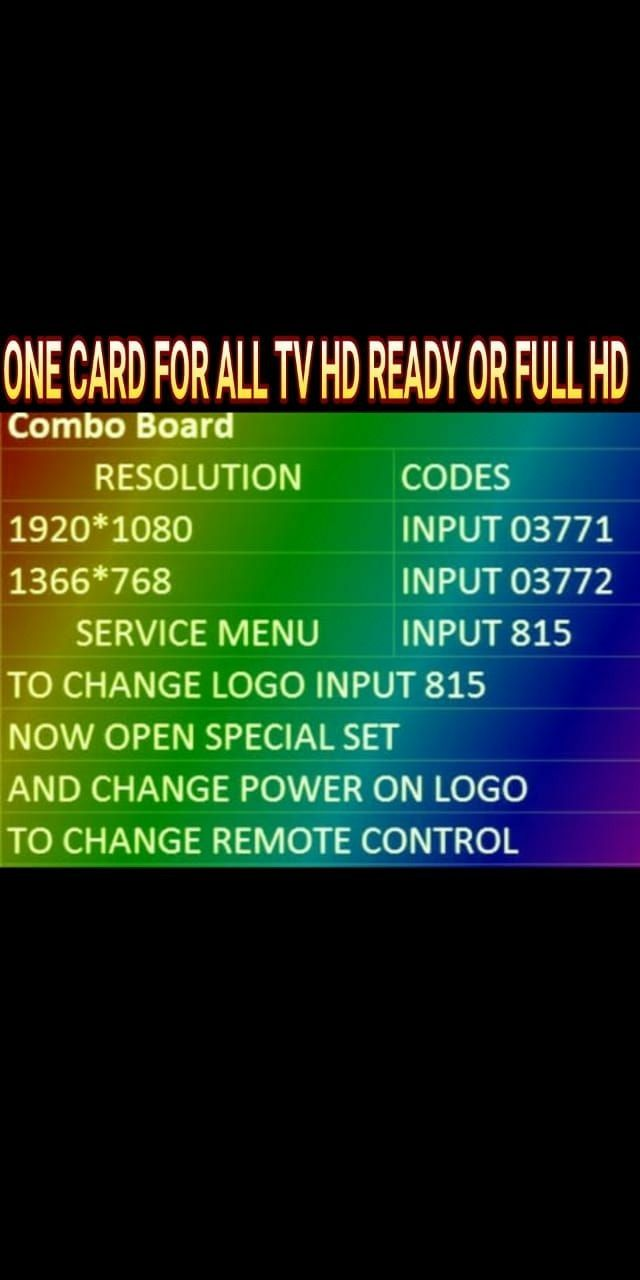 Pin by ccmb cavin on service menu in 2019 | Sony led tv