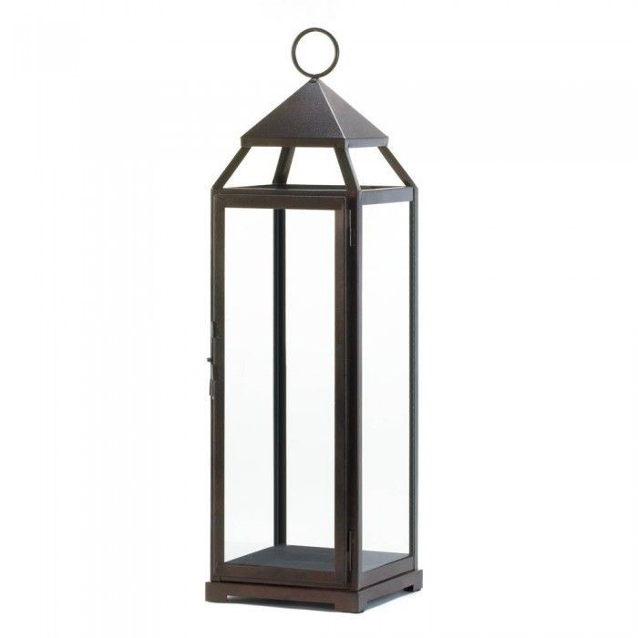 Gallery of Light 10016911 Extra Tall Bronze Contemporary Lantern