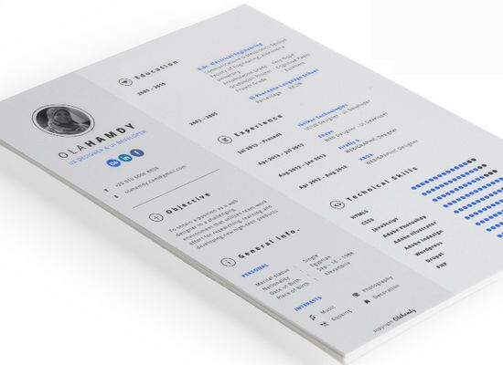 38 best CV ideas images on Pinterest Resume design, Resume - photography resume samples