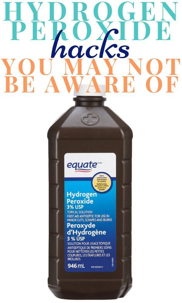 Hydrogen Peroxide Hacks You May Not Be Aware Of Diy Cleaning