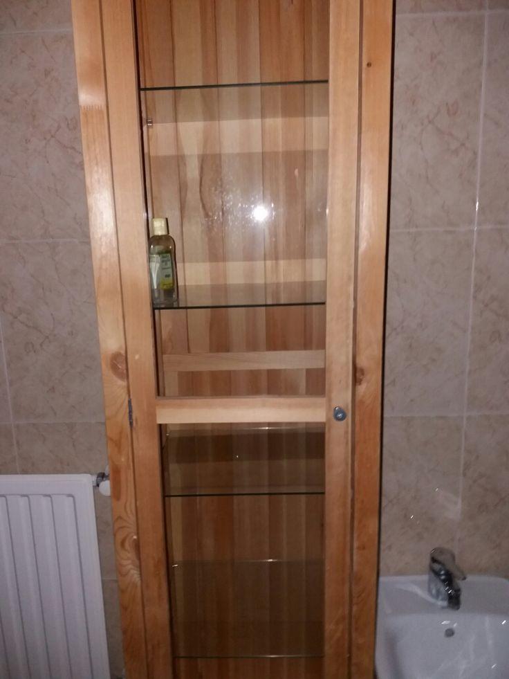 25 armario vitrina ikea seminuevo 4 estantes de cristal - Mueble vitrina ikea ...
