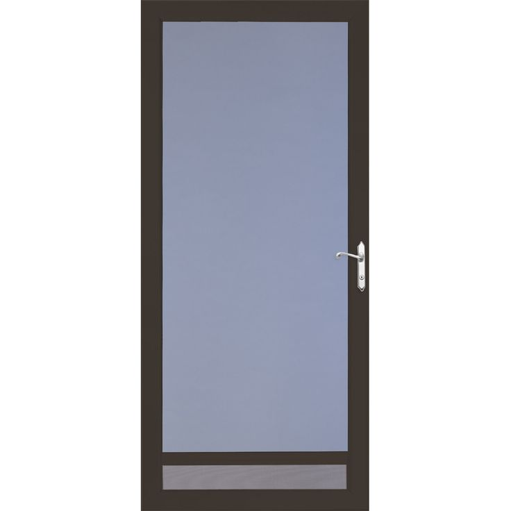 LARSON NuVent Brown Full-View Aluminum Storm Door (Common 36-in x  sc 1 st  Pinterest & 7 best Storm doors images on Pinterest | Storms Thunderstorms and ...