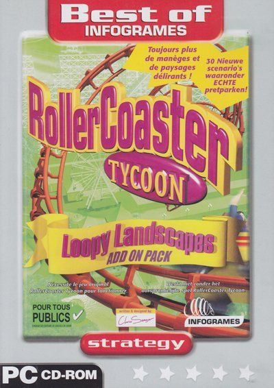 RollerCoaster Tycoon - Loopy Landscapes Add On Pack (PC)