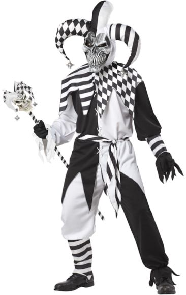 Halloween Jester Costume