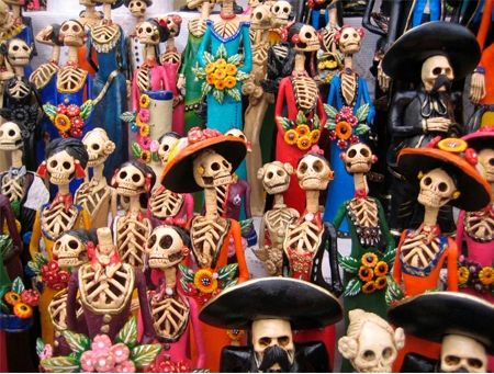 Day of the Dead: Picnicking at the Gravesite (Mexico)