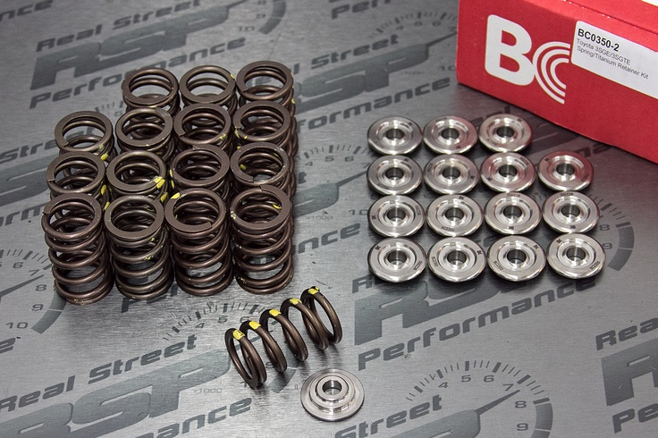 Brian Crower Single Valvesprings Ti Retainers Toyota 3sgte Gen 2 Bc0350 2 235 87 Real Street Performanc Retainers Performance Engines Street Performance