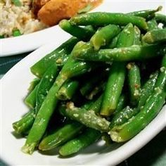 "Spicy Indian (Gujarati) Green Beans I ""Everyone loved it. Next time I will have to double the recipe."""