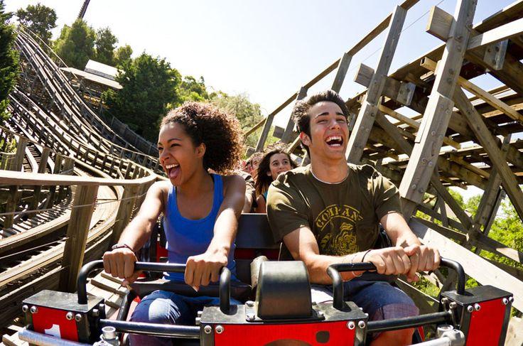 PortAventura Theme Park, Salou, Catalonia.