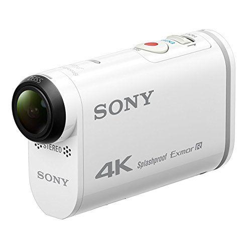 cool Sony Action Cam FDR-X1000 - Videocámara deportiva (video 4K, resistente a salpicaduras con WI-FI, NFC, GPS)