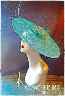 Chapeau Mademoiselle Slassi, Paris