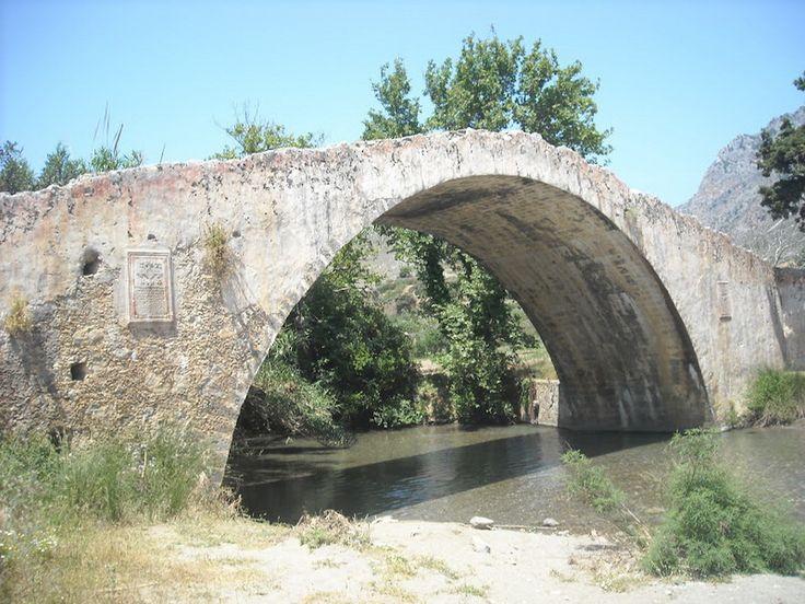 Νομός Ρεθύμνου - Πρέβελη - Γεφύρι Στο Μέγα Ποταμό - Μέγας Ποταμός