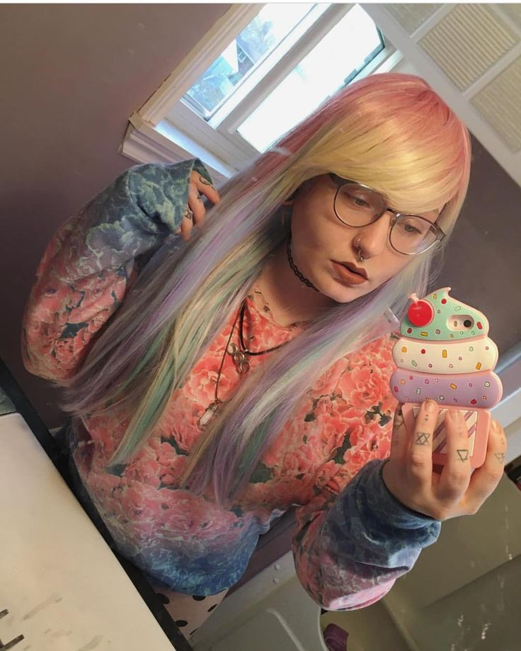 Sherbet Dip vibes with @lazuli_witch This cute AF wig is in stock and available now from Lushwigs.com #lushwigssherbetdip (link in bio) . . . #lushwigs #wig #lushhair #gorgeous #wigs #lushwig #pastelgoth #kawaii #cute #cutehair #gorgeoushair #lushstyle #hairtrends #hairspiration #hair #instagram #instapic