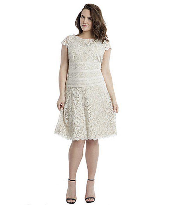 Adrianna Papell Illusion Inset Dress