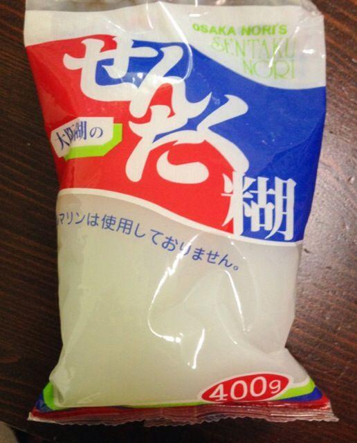 Chisatoさんがなんと!日本から「せんたく糊」を買ってきてくださいました。原料はでんぷんのみ。衣類だけでなく、襖や障子貼りに使えます。昔なつかしのよいものをありがとうございます。2014秋