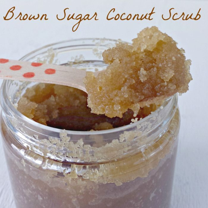 Brown Sugar Coconut Oil Scrub via Miss Information