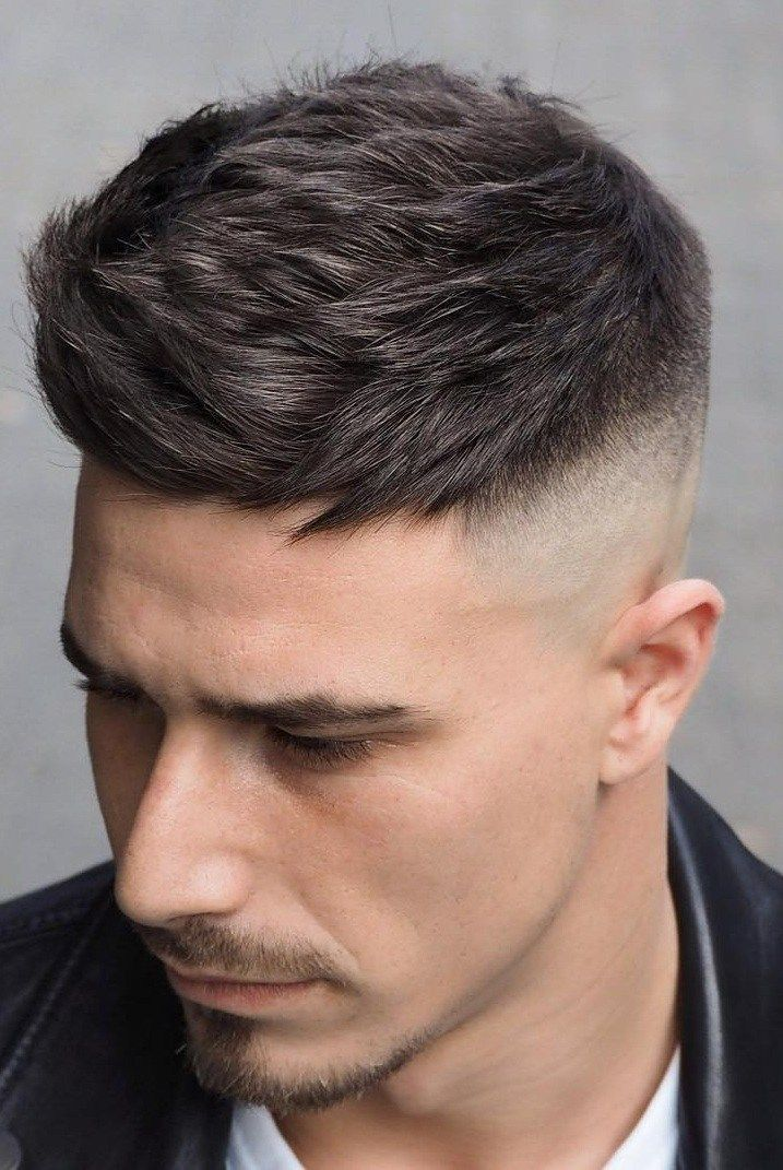 18 Hottest Fade Hairstyles For Men in 2019! - Men's Hairstyle 2019 -  #Fade #hairstyle #hairs...