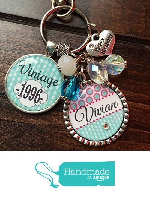 50 best birthday gift ideas images on pinterest birthday favors customizable vintage birthday keychain 1986 1996 1976 1966 40th birthday gift personalized necklace happy birthday gift your name here paisley key negle Choice Image