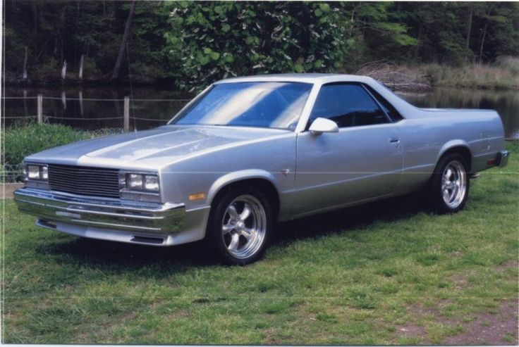 1987 Chevrolet El Camino Maintenance/restoration of old/vintage vehicles: the material for new cogs/casters/gears/pads could be cast polyamide which I (Cast polyamide) can produce. My contact: tatjana.alic@windowslive.com