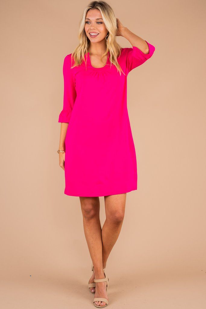 40+ Pink shift dress information