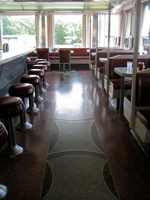 618 Best Diner Interior Photos Images On Pinterest