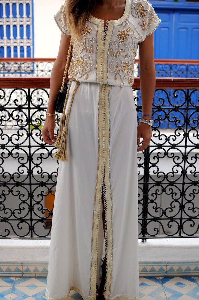 Fashion bakchic, caftan