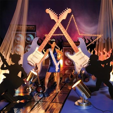 Rock-n-Roll All Night Complete Theme-Prom backdrop kit