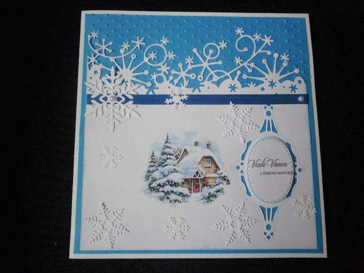 modré vánoční (materiál PP)