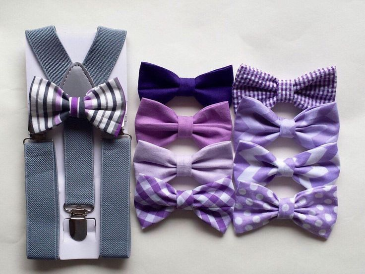 Boys lavender bow tie and suspenders, boys purple bow tie and suspenders, lavender wedding bow tie, purple wedding bow tie, ring bearer by TheLittlestGentleman on Etsy https://www.etsy.com/listing/207273965/boys-lavender-bow-tie-and-suspenders