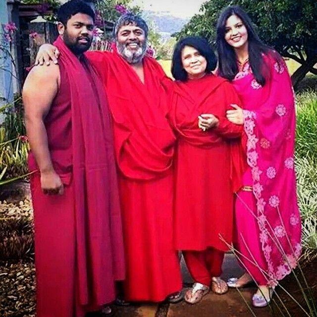 Baba & family