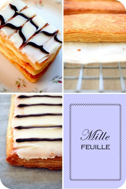 how to make milles feuilles icing