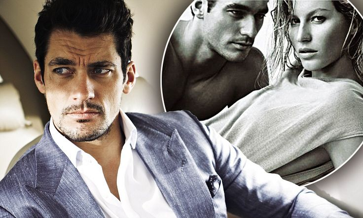 'I don't get on with Gisele. We don't see eye to eye, we argue and we don't enjoy working with each other': A brief encounter with David Gandy.