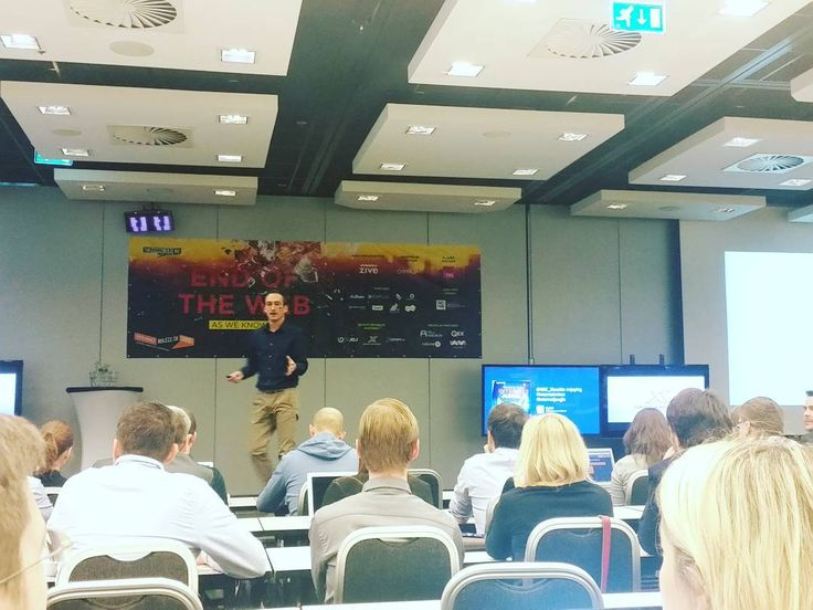 An awesome Virtual Reality pic! Today we attend conferenceEnd of The Web #internetrulezz #conference #instaconference #online #digital #era #balanced #worklife #job #carreer #strategy #marketing #digitalmarketing #virtualreality #instadigital #recruitment #humanresources #bratislava  #slovakia by balancedhr check us out: http://bit.ly/1KyLetq
