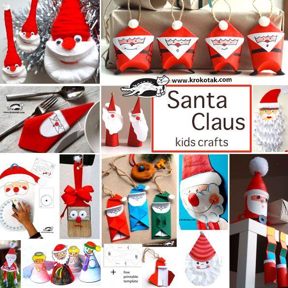 Santa Claus - kids crafts