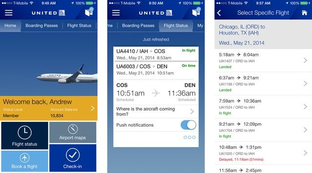 United Airlines App Now Lets You Expedite International