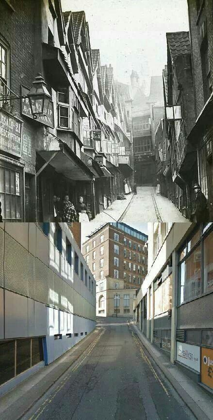 Bristol, then and now
