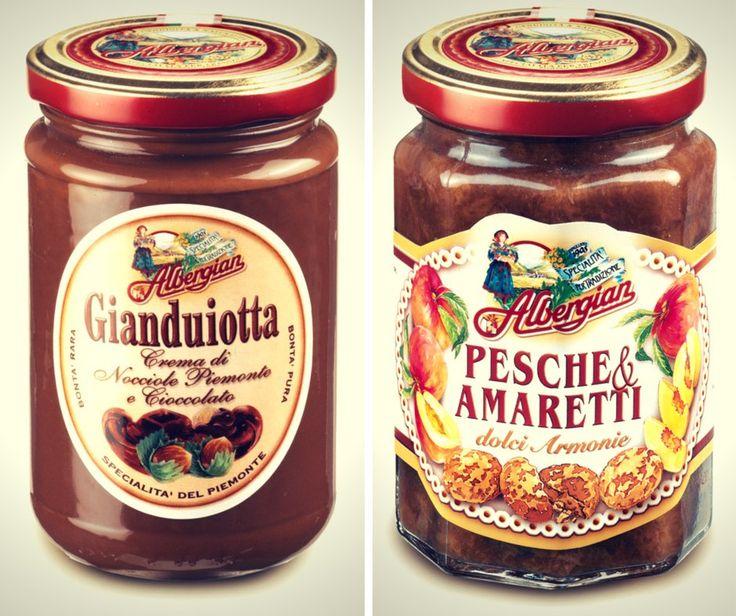 Gianduiotta or peaches and amarettos... Which Albergian sweetness do you prefer? The taste of italian food.
