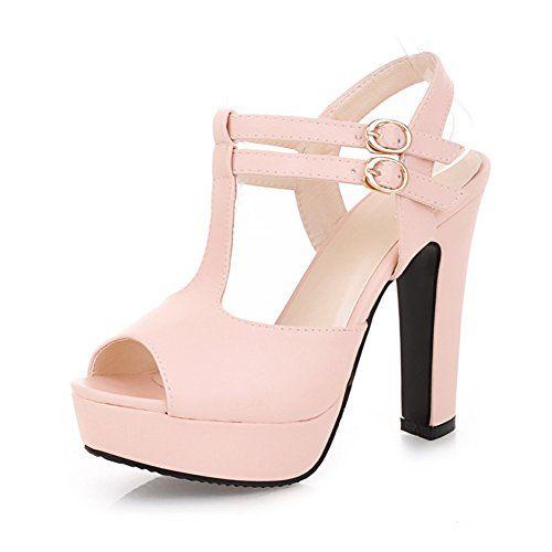 Schuhe Fashion Princess/Eleganz Fischkopf Schuhe/Frauen Sandalen/Dick mit hohen Absätzen - http://on-line-kaufen.de/pumps-17/schuhe-fashion-princess-eleganz-fischkopf-dick
