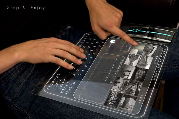 Holographic computer!  A concept soon to be reality?