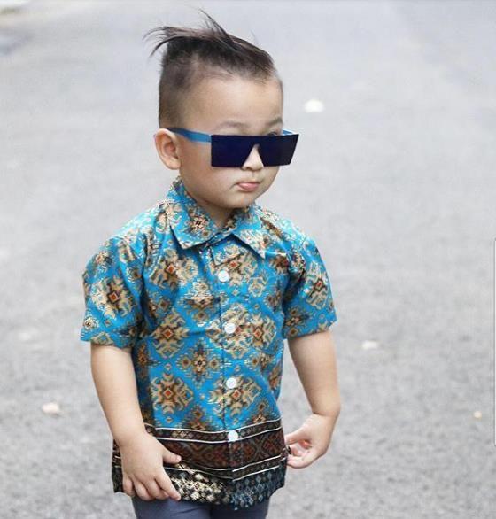 Model Baju Batik Anak Laki Laki Terbaru 2018 Gaun Baju Pesta Anak