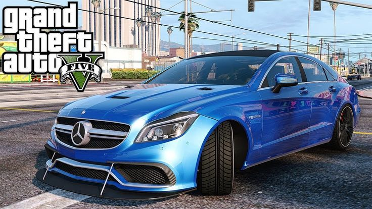 Mercedes Benz CLS 63 AMG- GTA 5 ARABA MODU