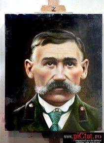 Tablouri pictate: Portret dupa o fotografie veche Portrete la comanda