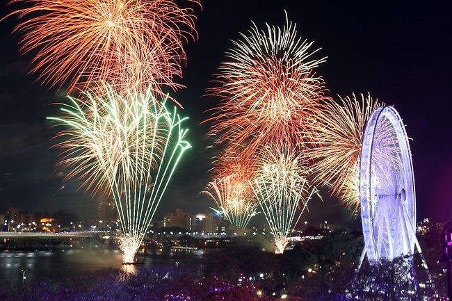 Brisbane Riverfire Festival 2012