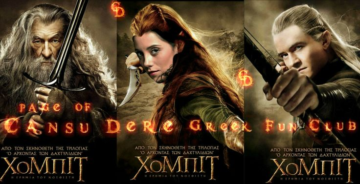#Hobbits #CansuDere #IanMcKellen #OrlandoBloom