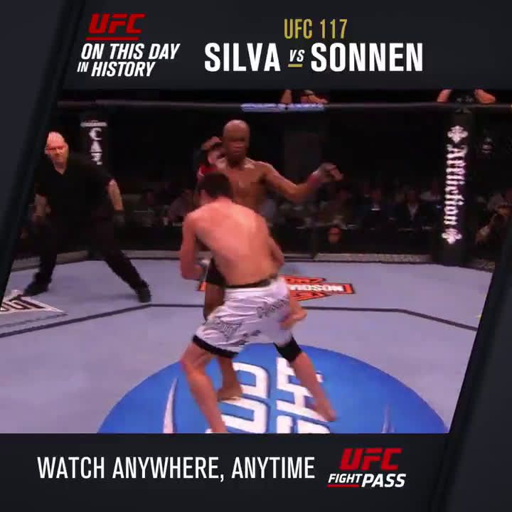 On this day in 2010 Anderson Silva pulled off one of the best comebacks in UFC history submitting Chael Sonnen via triangle choke in the 5th round to defend his title