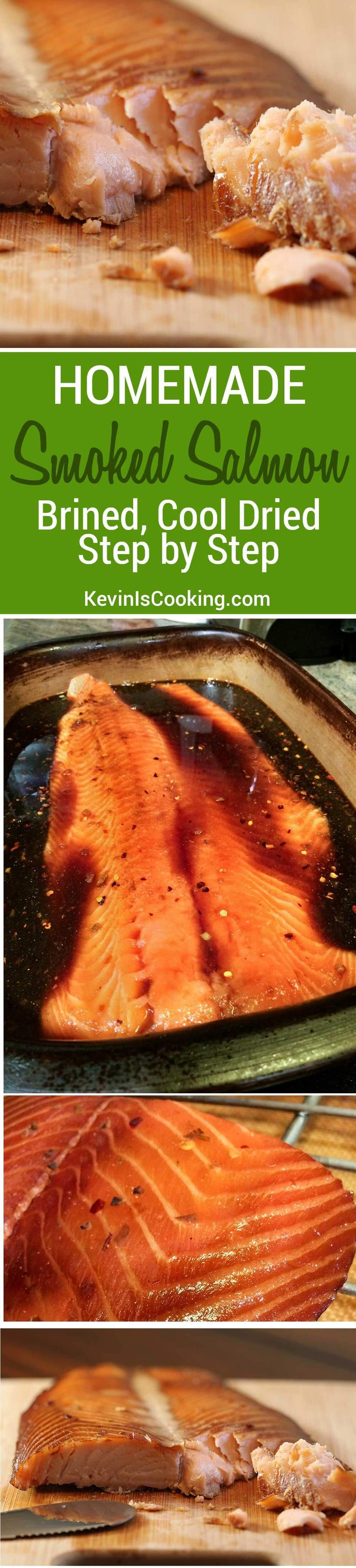A great step by step recipe on how to make Smoked Salmon and Brine. You'll never need purchase store bought smoked salmon again!